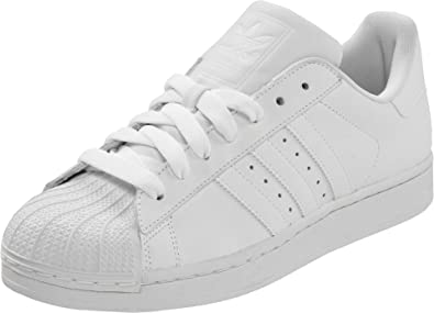 adidas Originals Men\u0027s Superstar ll Sneaker,White/White/White,8 ...