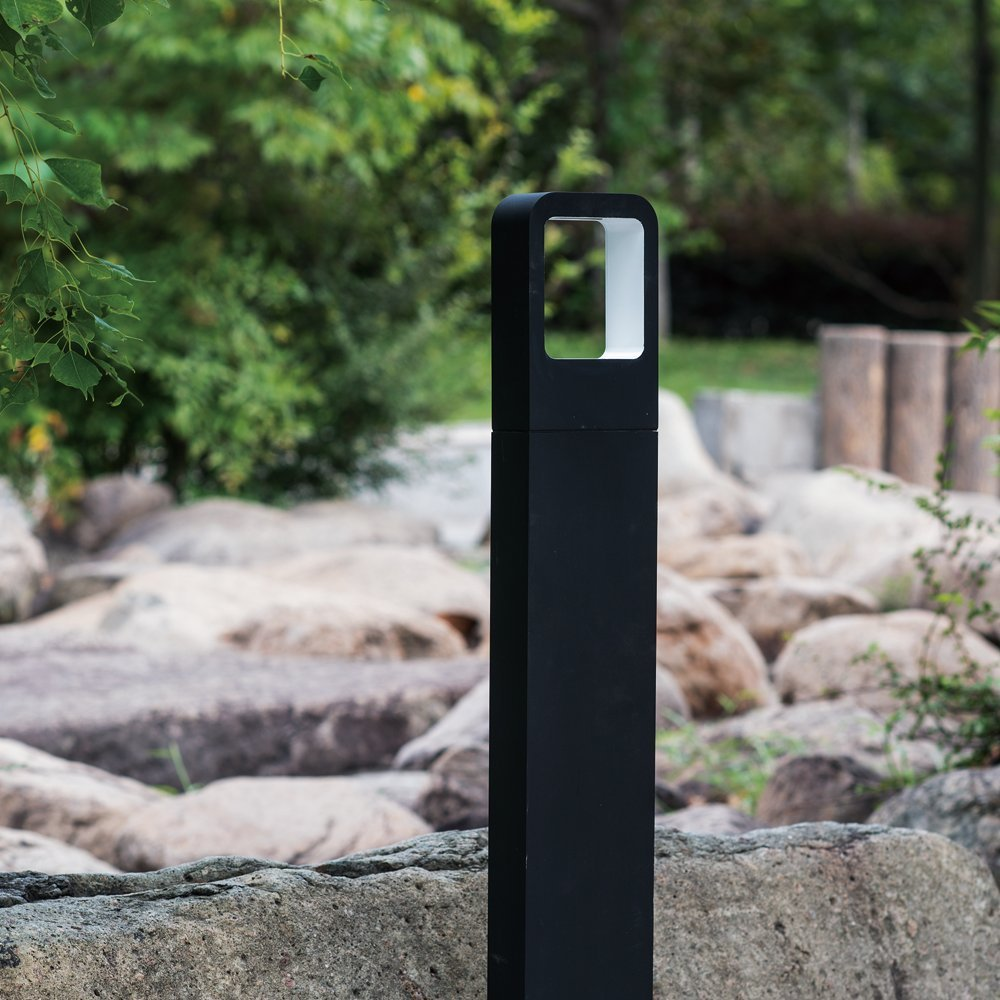 Aluminum Alloy Outdoor LED Bollard Lights-4W 360LM LED Garden Light Path Light-Weather Resistant LED Landscape Lighting