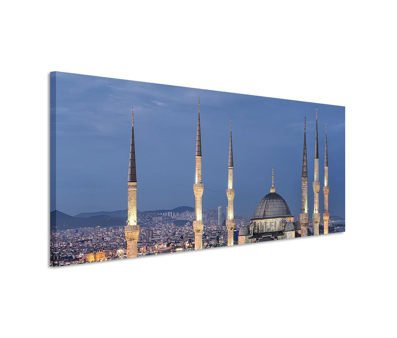 Modernes Bild 150x100cm Architekturfotografie – Blaue Moschee ...