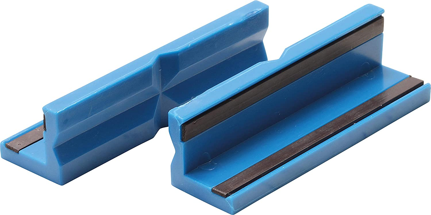 100 mm Bench Vice Jaw Protector plastic 2 pcs. BGS 9796