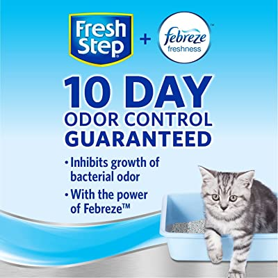 Fresh Step Multi-Cat Scented Litter with the Power of Febreze