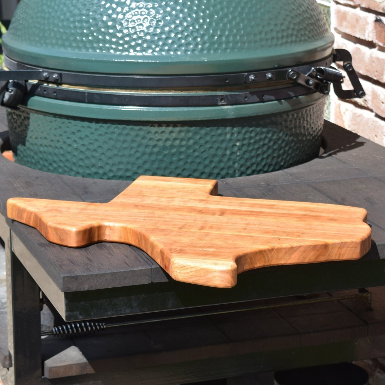 Handcrafted Texas Wood Cutting Board Chopping Block Reversible Butcher Block by The Practical Plankist