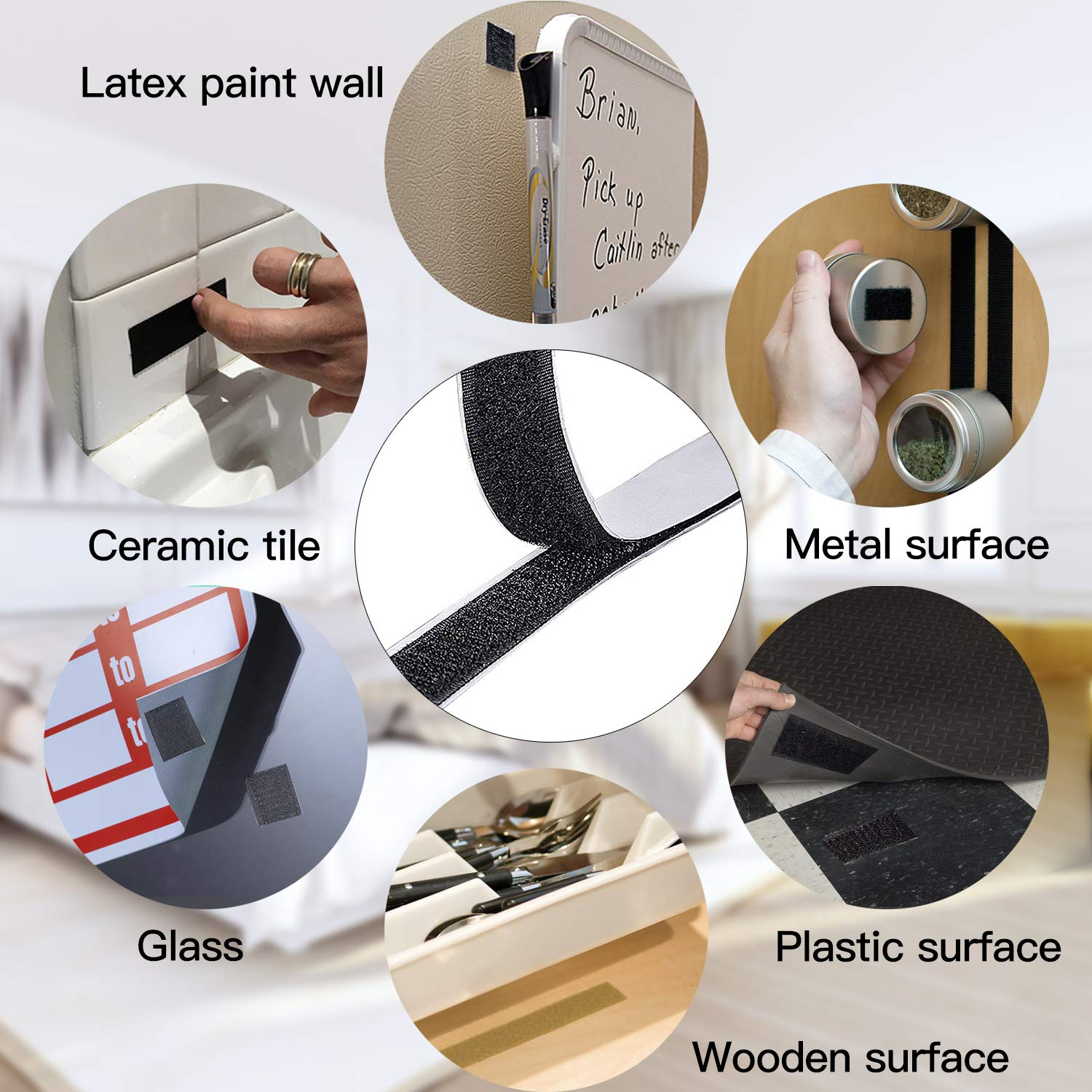"""Image result for adhesive hook and loop tape 1"""""""