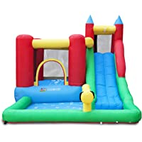 Lifespan Kids Inflatable Surrey 2 Slide and Splash Slide and Splash