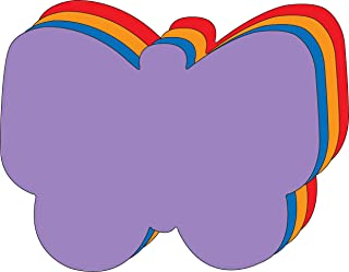 """product image for 8"""" x 10"""" Butterfly Assorted Color Super Cut-Outs, 15 Cut-Outs in a Pack for Spring, Summer Classroom Garden Kids' School Craft Projects"""