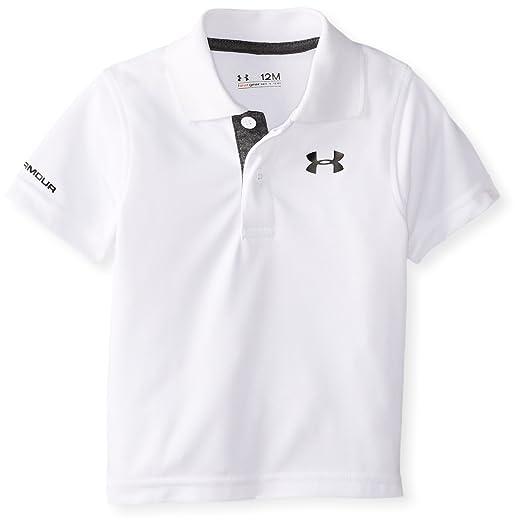 cdf176c8 Under Armour Boys' Ua Logo Short Sleeve Polo