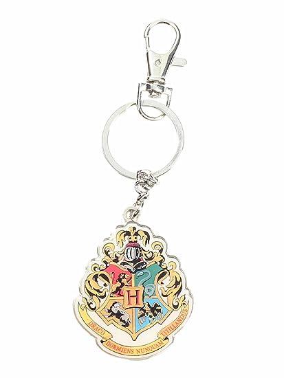 SD Toys- Harry Potter Hogwarts Escudo Llavero de Metal ...