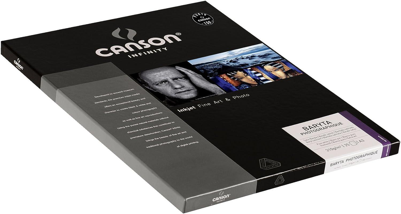 Photopapier Canson CS70139 Baryta Photographique Box A4