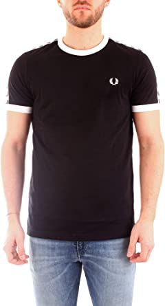 Fred Perry Taped Ringer T-Shirt, Camiseta