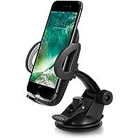 Handyhalterung auto - TOPLUS kfz handyhalterung-Ständer mit Gel-Saugnapf und Kugelgelenk handyhalter fürs auto Universal Handyhalterung für iPhone, Samsung, HTC, Huawei,GPS und mehr