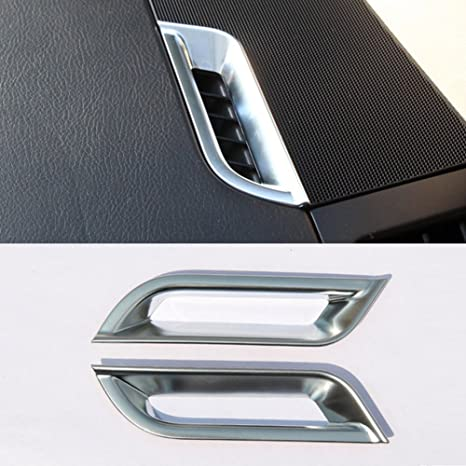 anteprima di volume grande servizio eccellente Chrome cruscotto AC Vent Outlet Frame cover Trim accessori auto styling