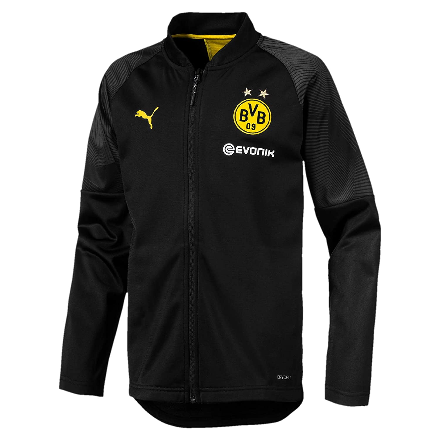 Puma Kinder BVB Stadium Poly Jacket Jr with Sponsor Logo Trainingsjacke