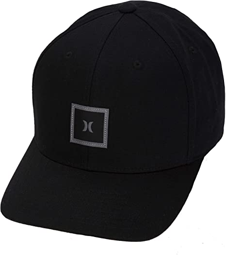 Hurley M Storm Icon Curved Hat Gorras, Hombre, Negro, 1SIZE ...