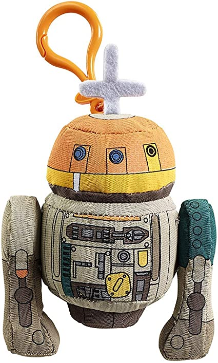 Star Wars Rebels Stormtrooper Mini Talking Plush Clip-On Figure