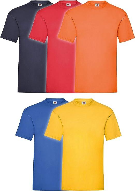 TALLA XL. Fruit of the Loom Camiseta para Hombre