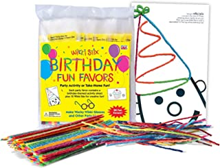 product image for WikkiStix Original Wax and Yarn Sticks in Set of 20 Birthday Fun Favors, with 8 Wikki Stix in Each Plus a Fun Activity Sheet.