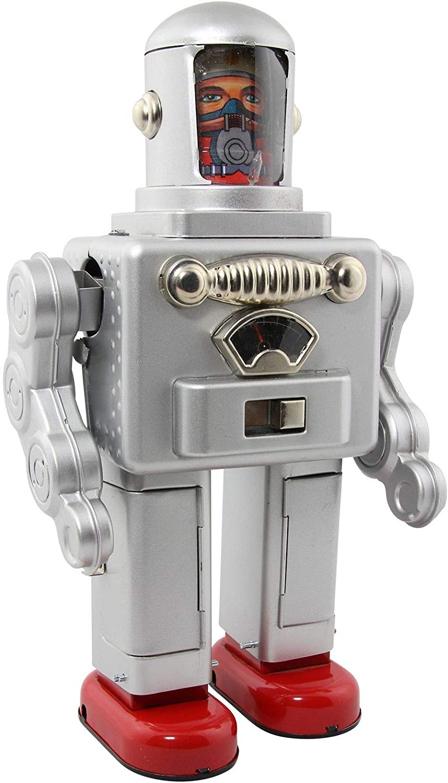 Freak Scene Robot - Robot de hojalata - Astro Spaceman - Plateado ...