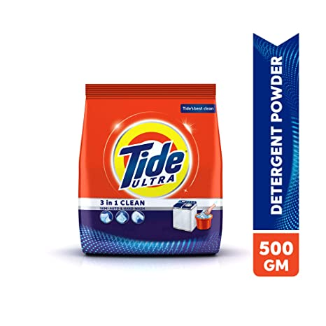 Tide Ultra 3 in 1 Clean Detergent Washing Powder 500 gm