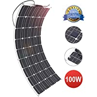 GIARIDE 100W 18V Solar Panel Monocristalino Célula Placa Solar Flexible