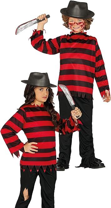 Guirca Rudy Disfraz Niños Nightmare Freddy Krueger 10/12 años ...