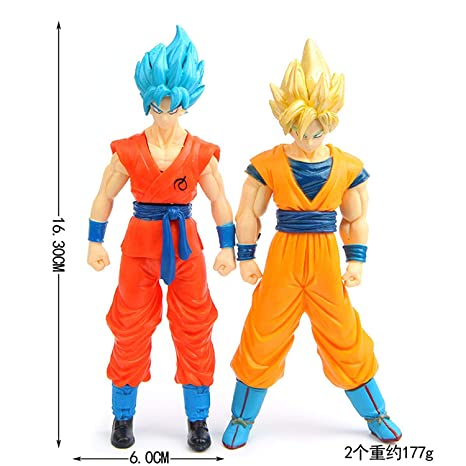 33249a12b856 ONOGAL Bola de Dragon Dragon Ball Z 2 Figuras de Gran tamaño Personajes  Saiyan Goku Vegeta