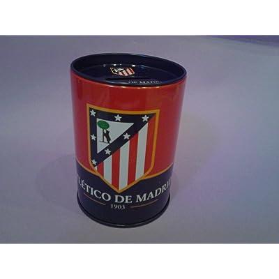 Atletico de Madrid- 0 Hucha cubilete Metalica de Atletico (CYP Imports PH-07-ATL): Juguetes y juegos