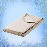 Elegear Cool Summer Blanket, 2 in 1 Design Throw Blanket Bed Throw Keep You Cool All Night, Anti Allergy and Breathable…