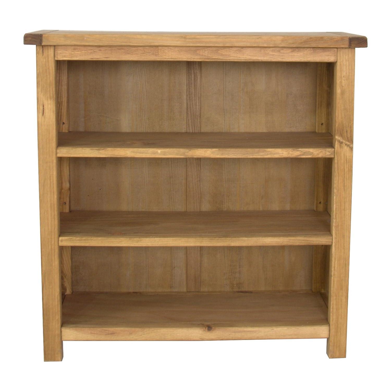 CBC Cabinets CbC Unterschrank Bücherregal, niedrig, Holz, gewachst