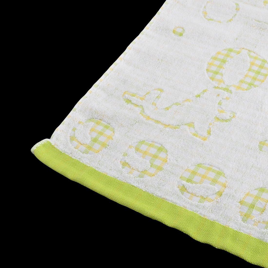 Amazon.com: eDealMax KUTTO autorizado Patrón leones Marinos absorbente toalla de baño de 140 cm x 70 cm Verde claro: Home & Kitchen