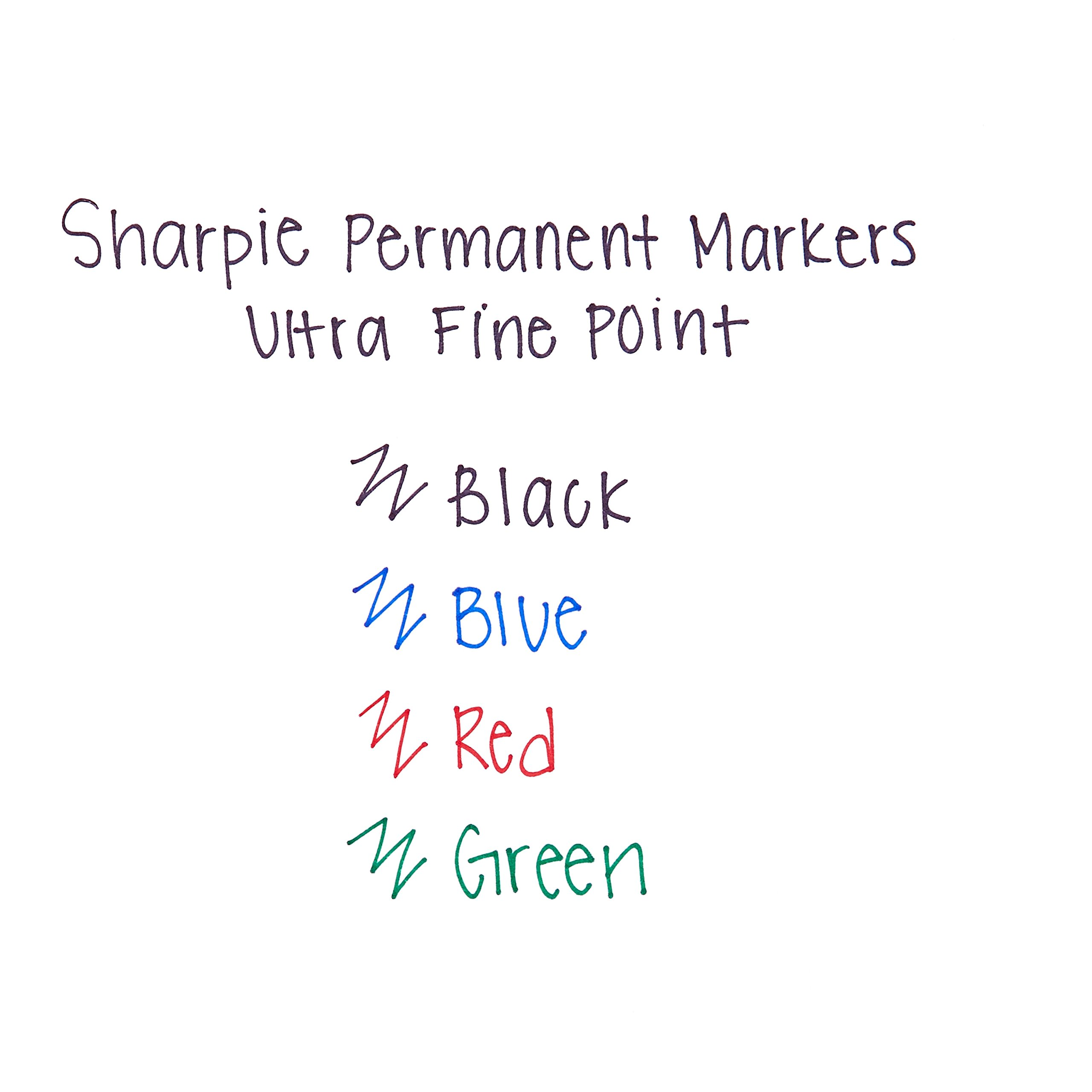Sharpie Permanent Markers, Ultra-Fine Point, Black, 24-Count by Sharpie (Image #5)