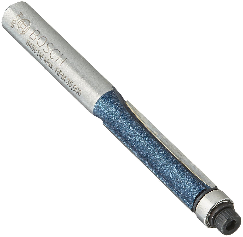 Bosch 84501M 1/4 In. x 1 In. Carbide Tipped 2-Flute Flush Trim Bit