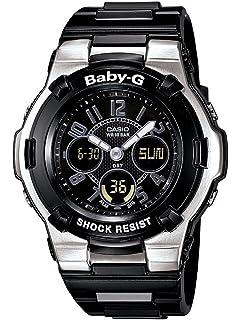 94c4aa97a86 Casio Women s BGA110-1B2 Baby-G Shock Resistant Black Multi-Function Sport  Watch