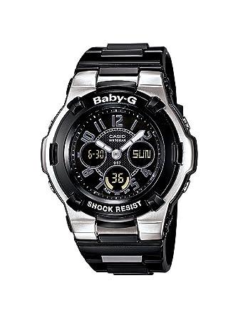 5ff9f5853a6 Amazon.com  Casio Women s BGA110-1B2 Baby-G Shock Resistant Black  Multi-Function Sport Watch  Casio  Watches