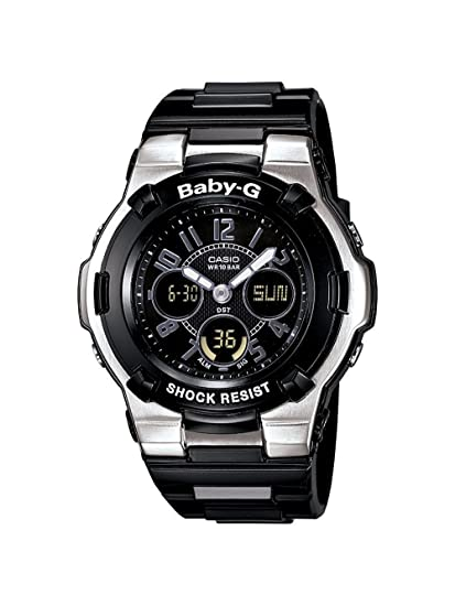 5c5b8a117f2087 Image Unavailable. Image not available for. Colour: Casio Women's  BGA110-1B2 Baby-G ...