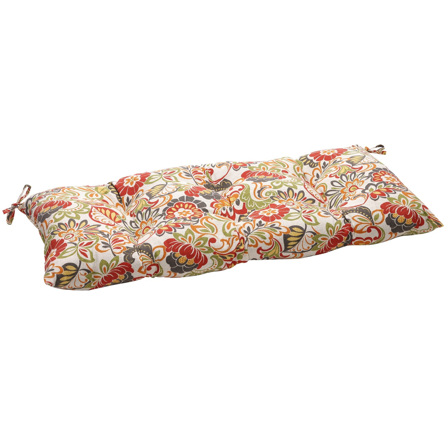 amazoncom pillow perfect zoe multicolor swingbench cushion home u0026 kitchen
