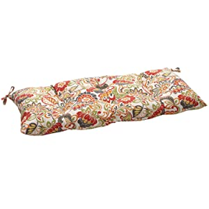 Pillow Perfect Indoor/Outdoor Zoe Multicolor Swing/Bench Cushion