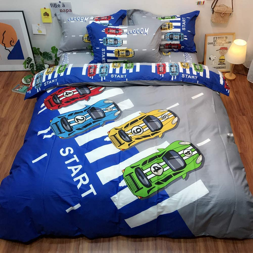 Sports Car Duvet Cover Set