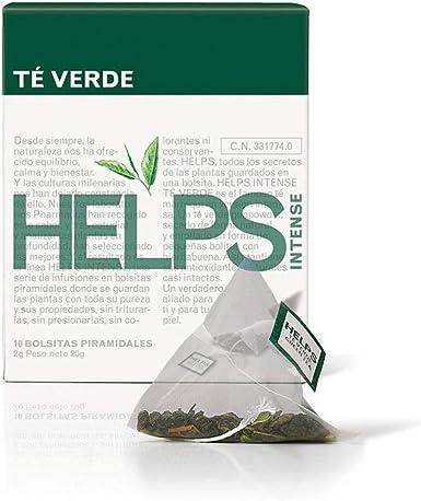 HELPS INFUSIONES - Té Verde Estilo Marruecos Con Hierbabueba. Té ...