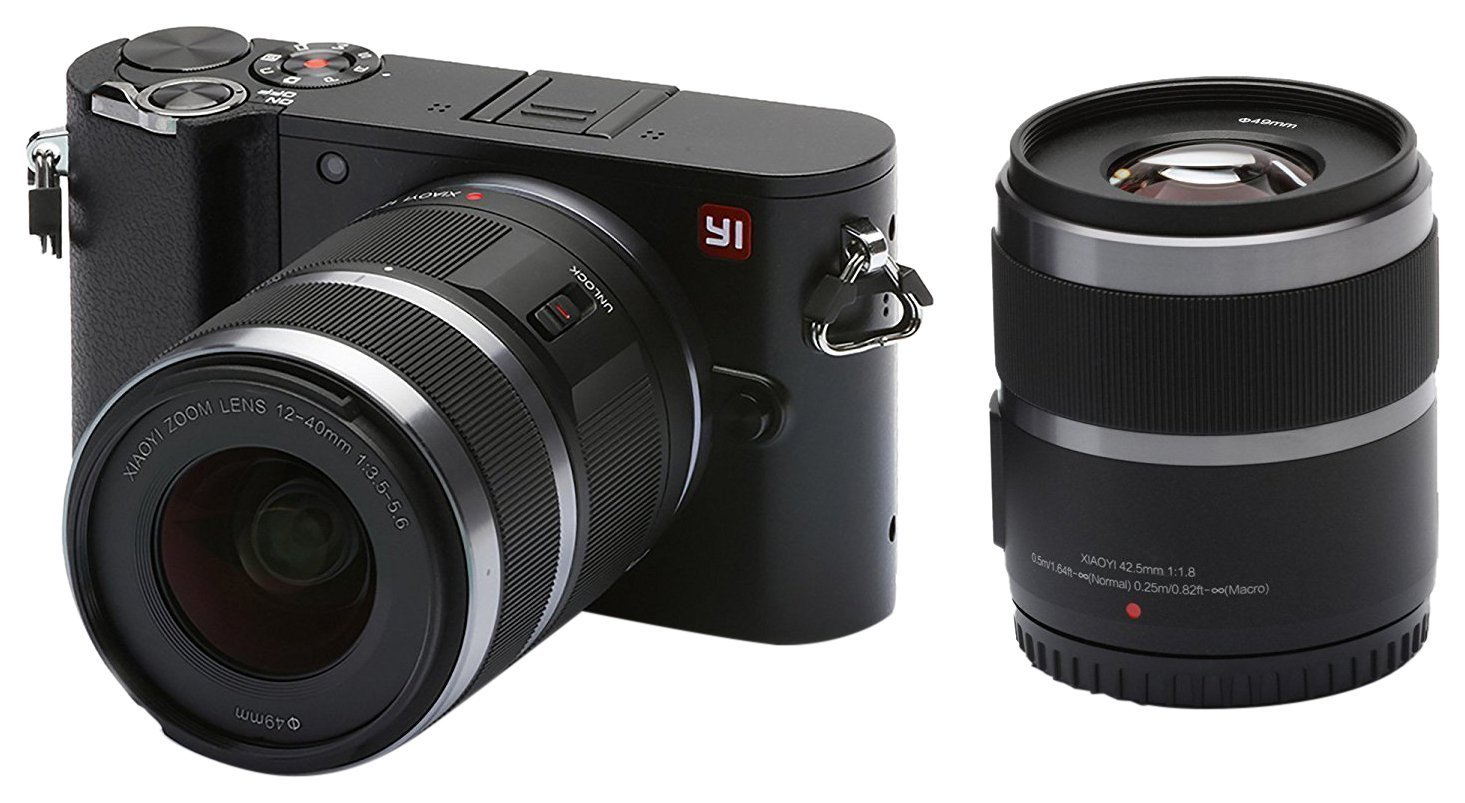 YI M1 Fotocamera Mirrorless 4k 20MP