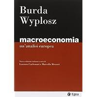 Macroeconomia. Un'analisi europea