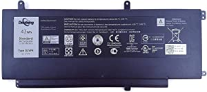 Dentsing D2VF9 11.1V 43Wh/3840mAh 4-Cell Laptop Battery Replace for Dell Inspiron 15 7547 7548 Vostro 5459 Series Notebook 4P8PH PXR51 YGR2V