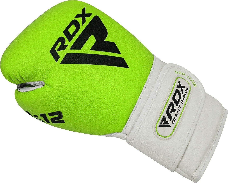 Kampfsport Boxsack Gut f/ür Kickboxen Sandsack Junior Boxing Gloves RDX Boxhandschuhe Kinder f/ür Muay Thai /& Training Convex Leder Punchinghandschuhe MMA MEHRWEG Sparring