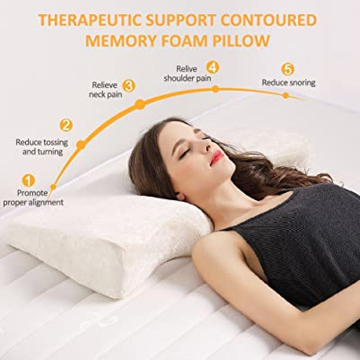 Contour Memory Foam Pillow