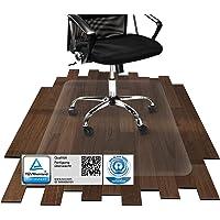 etm® Bodenschutzmatte | TÜV/Blauer Engel | transparent, für Laminat, Parkett, Fliesen und Hartböden