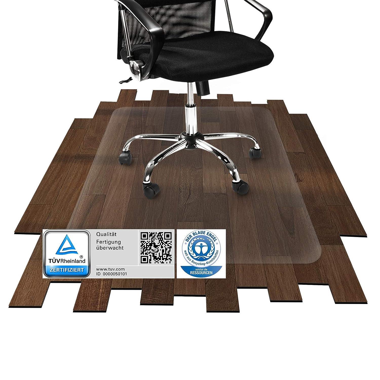 Etm® Bodenschutzmatte - - - 150x300cm   TÜV und Blauer Engel   transparent, für Laminat, Parkett, Fliesen und Hartböden 71aae0