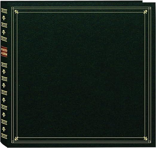 Hunter Green Pioneer 300 Pocket 3.5 X 5 Memo Photo Album