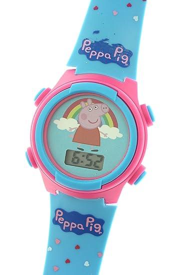 Peppa Pig Kid s Digital reloj con luz Up función