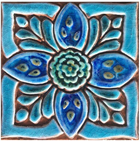 . Decor ceramic tile 5 9  Decorative wall tile ideal for outdoors  kitchens  and bathrooms SUZANI DECO 2