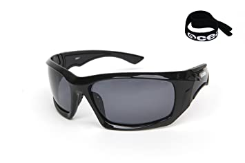 Ocean Sunglasses Antigua - gafas de sol polarizadas - Montura : Negro Mate - Lentes :