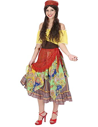 ladies gypsy fortune teller fair circus festival halloween costume small